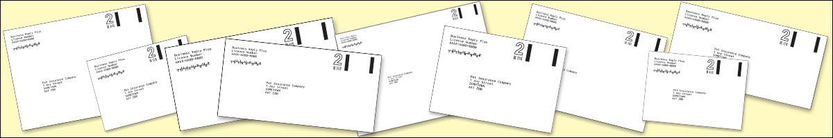 Royal Mail Business Reply Envelope printers