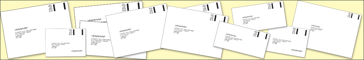 Business Reply Envelopes